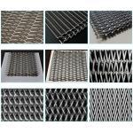 China Custom Chain Link Conveyor Belt , Furnace Use Metal Mesh Conveyor Belt wholesale
