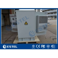 Buy cheap IP55 Galvanized Steel Integrated Outdoor Telecom Cabinet With Two Doors from wholesalers