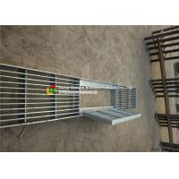 China House Drain Hot Dipped Galvanized Steel Grating 24 - 200mm Cross Bar Pitch wholesale