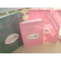 China custom cheap white kraft paper bag packaging supplier with logo printing wholesale