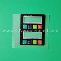 China PC sticker labels with embossed and matt finish wholesale