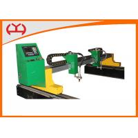 China Double Side Driving Plasma Tube Cutter , Plasma Profile Cutter Arc Voltage Height Control wholesale