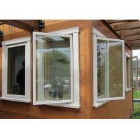 China Energy Saving Thermal Break Aluminum Casement Windows with Double Glazing Glass on sale