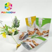 China Foil Stand Up Snack Bag Packaging Zipper Plastic Cashew Nut Pack Custom Printed wholesale