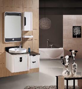 China Bathroom Cabinet/PVC Bathroom Cabinet (JTA-052) wholesale