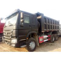 Buy cheap Diesel Fuel Commercial Sinotruk Howo 6x4 Dump Truck ZZ3257N3647A Delicate Design from wholesalers