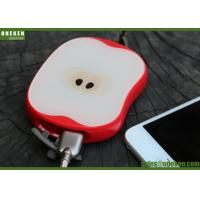 China USB Quick Charge 8000mAh Mobile Phone Power Bank Apple Shaped 5V / 2A Input wholesale