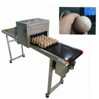 China Egg Thermal Inkjet Printer / Industrial Ink Jet Printer With ABC Standard Font wholesale