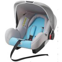 China Gray And Blue Child Safety Car Seats With Side - Impact Protection System wholesale