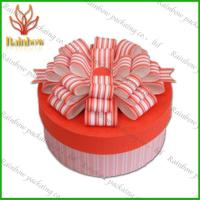 China Pink and Orange Colorful Gift Box Paper Box Packaging Recycable Paper Box wholesale