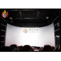 China Luxury 3D Cinema Systems with Special Effect System and Large Arc Screen wholesale