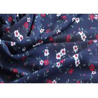 China 100% recycle chiffon dress fabric from rpet bottles material and GRS certificate wholesale
