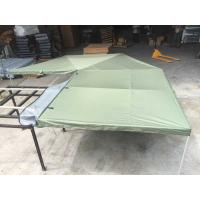 Quality Canvas Tent Trailer Awning Waterproof with Rectangle Triangle for sale