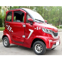 China Electric Vehicle with 1000W Brushless DC Motor Radio Player  Four Wheel Mobility Scooter on sale