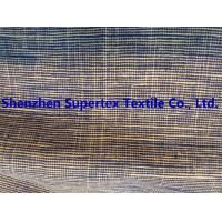 Buy cheap 2-tone Slub Linen Cotton Yarn Dyed 200GSM Rustic Garment Fabric from wholesalers