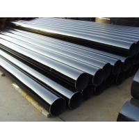 China Gas Line Round Carbon ERW Steel Pipe , 12M Length ERW Schedule 40 Pipe wholesale
