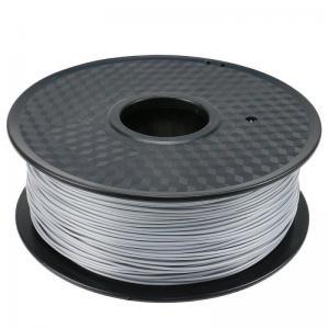 China Silver PLA 3d Printen Plastic Weight For 3D Printing Refill 1kilometer Capacity wholesale