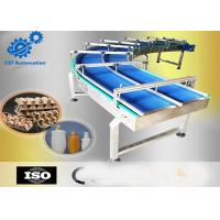 China H5935 Z Shape Inclined Automated Conveyor Systems With Cleats For Food Industry wholesale