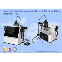 China Household RF Beauty Equipment 4D - Circle RV Facial Lifting Machine wholesale