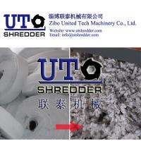 adhesive bonded fabric shredder / non-woven fabric shredder, cloth crusher, texitle recycling, waste fiber shredder