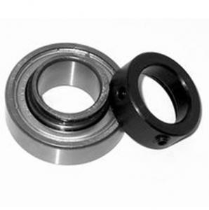 Chrome steel CSA207 pillow block bearing with Locking Collar
