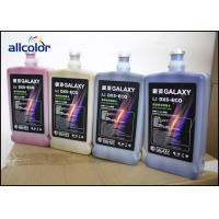 Universal Galaxy UD DX5 Epson Eco Solvent Ink 1L bottle package cmyk