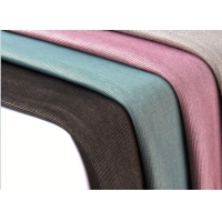 China colorful knitted silver modal blended anti radiation fabric for clothing wholesale