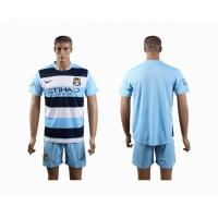 China Manchester City home club football cloths wholesale