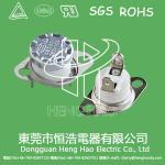 China KSD301 auto  reset thermostat,KSD301 bimetal temperature switch wholesale