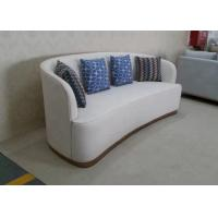 China Modern Hotel Bedroom Furniture Fireproof Elegant Fabric Corner Sofa Easy Assemble wholesale