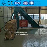 China Waster paper baler machine with ISO certificate wholesale
