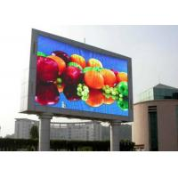 China Commercial Outdoor Full Color LED Display , big LED Screen Video Board P10 SMD3535 wholesale