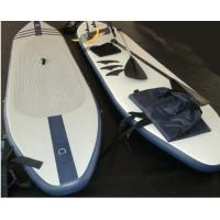 China White One Person Inflatable Surfboard Wavestorm Paddle Board 3.3 x 0.72m wholesale