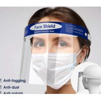 China Splash Proof Disposable Face Shield Non Toxic Tasteless With Elastic Band wholesale