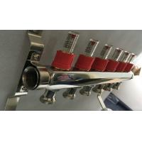 China House Long Flow Meter  Manifold For Underfloor Heating On Stainless Steel 304 wholesale