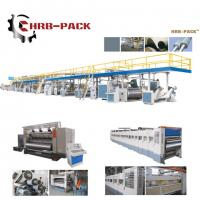 China 2018 hot sale 3/5/7 Ply Corrugated Cardboard Production Line for carton box wholesale