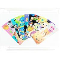 China Pantone Color Disney PP 3D Changing Pictures Lenticular Bookmarks For Kids 0.38mm / 0.45mm / 0.58mm wholesale