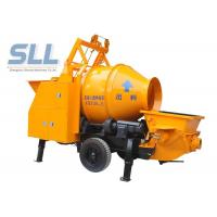 China Remote Control Concrete Mixer Pump Small Cement Pump Large Capacity wholesale