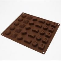 China Multi Style Candy Making Molds , Mini Chocolate Molds 3d Christmas Easy Storage wholesale