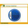 Blue K WORLD Laser Custom Ceramic Poker Chips Design 1000 Denomination for sale