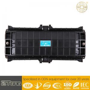 China Durable Plastic Optical Fiber Joint Box , Fibre Optic Jointing Closure Good Airtight on sale