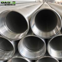 China 10 Inch 304 Stainless Steel Casing Pipes With Threaded Coupling ERW Technique wholesale