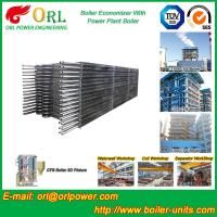 China Condensing CFB Boiler Economizer Coil / Economiser In Power Plant power plant economizer wholesale