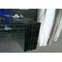 China Temperable Grade Tempered Safety Glass , Flat Solid Toughed Glass wholesale