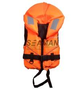 China Orange Rescue Water Sport Life Jacket 100N CE Certificate Nylon EPE foam wholesale