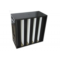 Buy cheap 80%RH F8 F9 V Bank Filter ABS Plastic External Frame from wholesalers