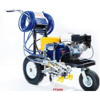 China Petrol Engined Road Line Marking Machine 4.0L/Min Delivery Rate wholesale