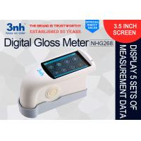 China Multi - Angle Digital Gloss Meter NHG268 Furniture paint Gloss tester 160mm*75mm*90mm Dimension wholesale