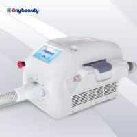 China Pure White Mini Q Switched Nd Yag Laser 300w 1 - 6hz For Tattoo Removal wholesale