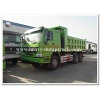 China HOWO  336 hp new condition diesel fuel type dump truck with Q345 Steel heavy tipper wholesale